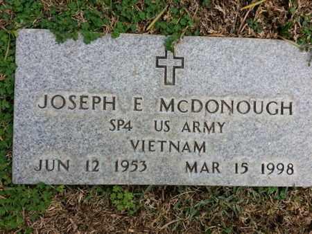 MCDONOUGH, JOSEPH E. - Los Angeles County, California | JOSEPH E. MCDONOUGH - California Gravestone Photos