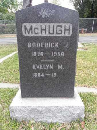 MCHUGH, RODERICK J. - Los Angeles County, California   RODERICK J. MCHUGH - California Gravestone Photos