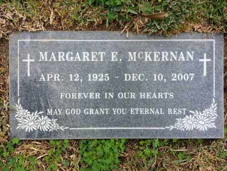 MCKERNAN, MARGARET E. - Los Angeles County, California | MARGARET E. MCKERNAN - California Gravestone Photos