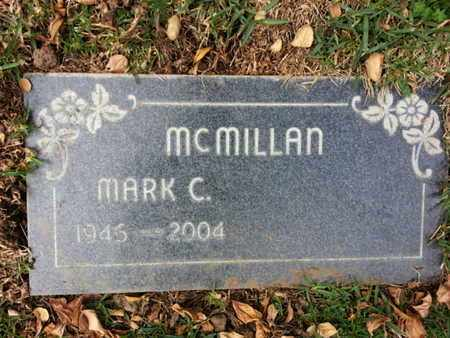 MCMILLAN, MARK C. - Los Angeles County, California | MARK C. MCMILLAN - California Gravestone Photos