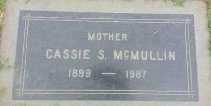 MCMULLIN, CASSIE - Los Angeles County, California | CASSIE MCMULLIN - California Gravestone Photos