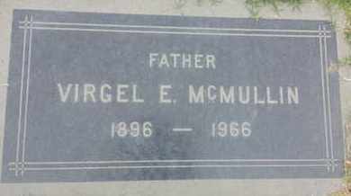 MCMULLIN, VIRGEL - Los Angeles County, California | VIRGEL MCMULLIN - California Gravestone Photos