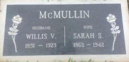 MCMULLIN, WILLIS - Los Angeles County, California | WILLIS MCMULLIN - California Gravestone Photos
