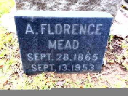 MEAD, A. FLORENCE - Los Angeles County, California | A. FLORENCE MEAD - California Gravestone Photos