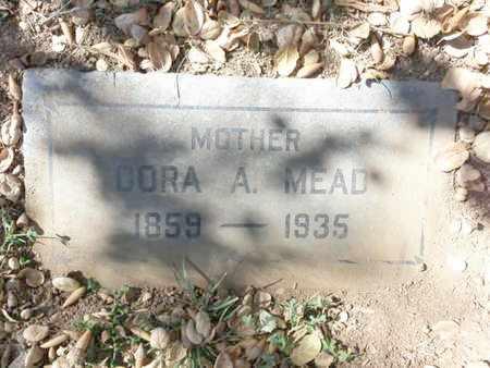 MEAD, CORA - Los Angeles County, California | CORA MEAD - California Gravestone Photos