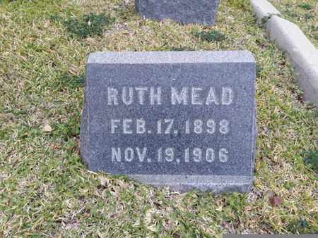 MEAD, RUTH - Los Angeles County, California | RUTH MEAD - California Gravestone Photos