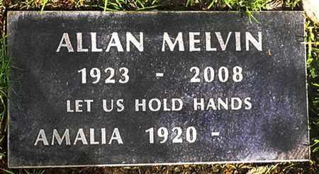 MELVIN, ALLAN JOHN - Los Angeles County, California | ALLAN JOHN MELVIN - California Gravestone Photos