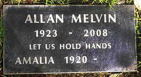 MELVIN, AMALIA FAUSTINA - Los Angeles County, California | AMALIA FAUSTINA MELVIN - California Gravestone Photos