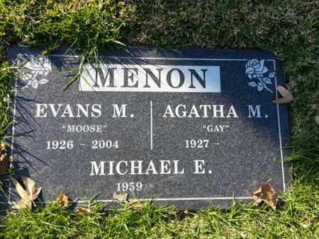 MENON, MICHAEL E. - Los Angeles County, California | MICHAEL E. MENON - California Gravestone Photos
