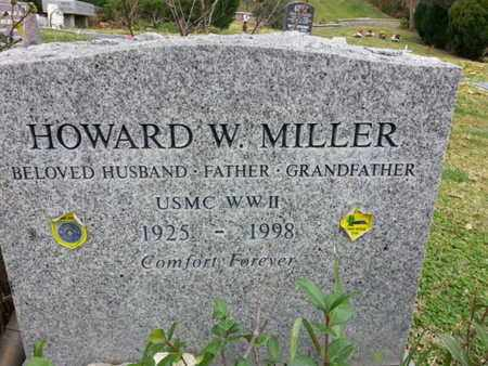 MILLER, HOWARD W. - Los Angeles County, California | HOWARD W. MILLER - California Gravestone Photos