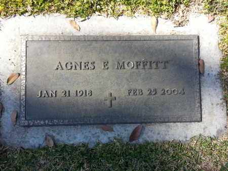 MOFFITT, AGNES - Los Angeles County, California | AGNES MOFFITT - California Gravestone Photos