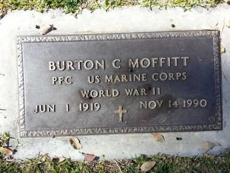 MOFFITT, BURTON C. - Los Angeles County, California | BURTON C. MOFFITT - California Gravestone Photos
