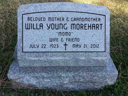 YOUNG MOREHART, WILLA - Los Angeles County, California | WILLA YOUNG MOREHART - California Gravestone Photos