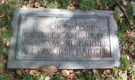 BARKER, CHARLES A. - Los Angeles County, California | CHARLES A. BARKER - California Gravestone Photos