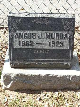 MURRA, ANGUS - Los Angeles County, California | ANGUS MURRA - California Gravestone Photos