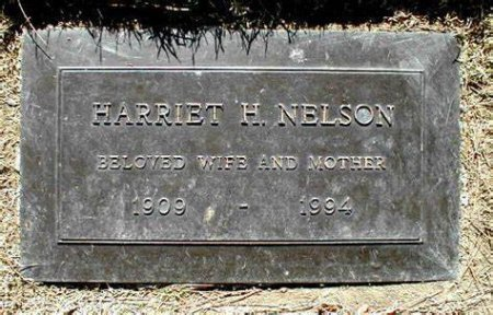 NELSON, HARRIET  [ACTOR] - Los Angeles County, California | HARRIET  [ACTOR] NELSON - California Gravestone Photos