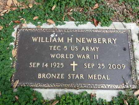 NEWBERRY, WILLIAM H. - Los Angeles County, California | WILLIAM H. NEWBERRY - California Gravestone Photos