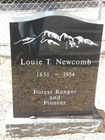 NEWCOMB, LOUIE - Los Angeles County, California | LOUIE NEWCOMB - California Gravestone Photos