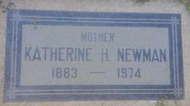 NEWMAN, KATHERINE - Los Angeles County, California | KATHERINE NEWMAN - California Gravestone Photos