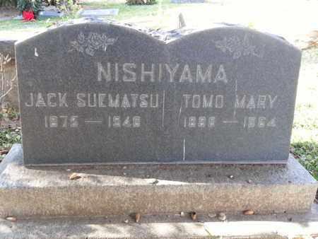 NISHIYAMA, JACK SUEMATSU - Los Angeles County, California | JACK SUEMATSU NISHIYAMA - California Gravestone Photos