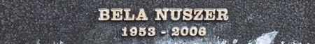NUSZER, BELA - Los Angeles County, California | BELA NUSZER - California Gravestone Photos