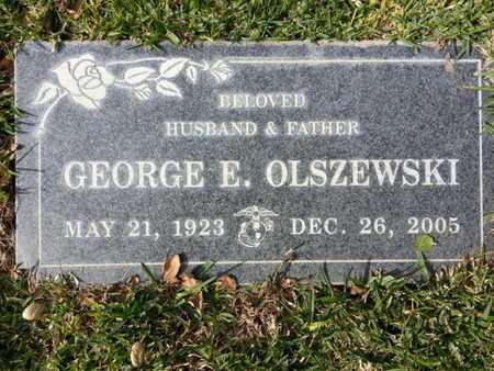 OLSZEWSKI, GEORGE E. - Los Angeles County, California   GEORGE E. OLSZEWSKI - California Gravestone Photos