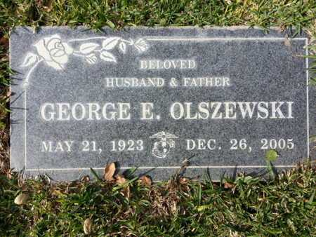 OLSZEWSKI, GEORGE E. - Los Angeles County, California | GEORGE E. OLSZEWSKI - California Gravestone Photos