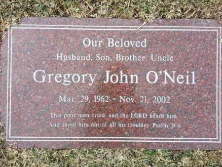 O'NEIL, GREGORY JOHN - Los Angeles County, California | GREGORY JOHN O'NEIL - California Gravestone Photos