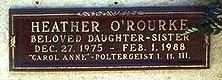 O'ROURKE, HEATHER MICHELE  [ACTOR] - Los Angeles County, California | HEATHER MICHELE  [ACTOR] O'ROURKE - California Gravestone Photos