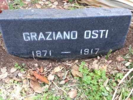 OSTI, GRAZIANO - Los Angeles County, California | GRAZIANO OSTI - California Gravestone Photos