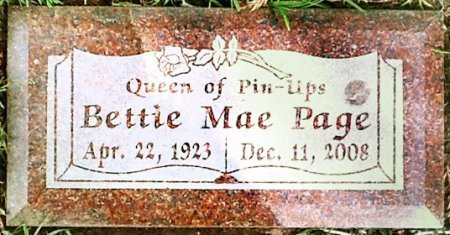 PAGE, BETTIE MAE  [MODEL] - Los Angeles County, California   BETTIE MAE  [MODEL] PAGE - California Gravestone Photos