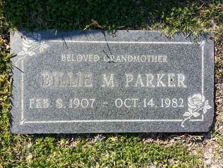 PARKER, BILLIE M. - Los Angeles County, California | BILLIE M. PARKER - California Gravestone Photos