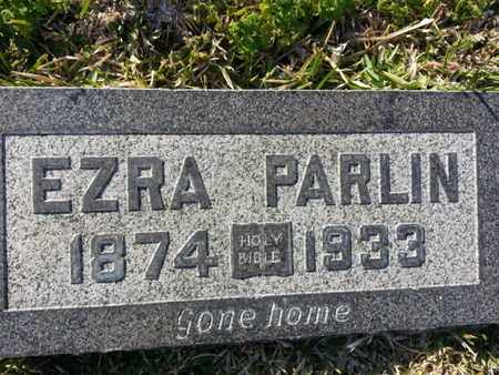 PARLIN, EZRA - Los Angeles County, California | EZRA PARLIN - California Gravestone Photos