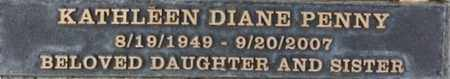 PENNY, KATHLEEN DIANE - Los Angeles County, California | KATHLEEN DIANE PENNY - California Gravestone Photos