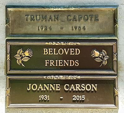 CARSON, JOANNE - Los Angeles County, California | JOANNE CARSON - California Gravestone Photos