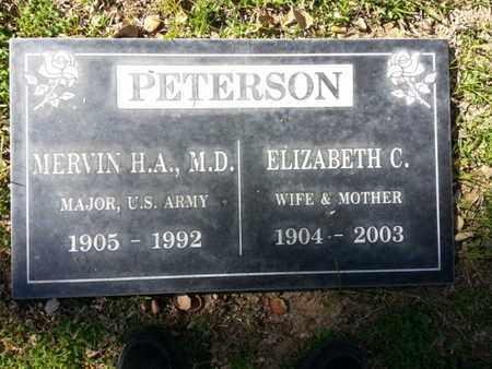 PETERSON, ELIZABETH C. - Los Angeles County, California   ELIZABETH C. PETERSON - California Gravestone Photos