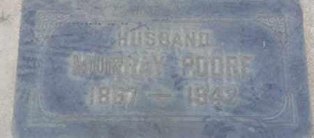 POORE, MURRAY - Los Angeles County, California | MURRAY POORE - California Gravestone Photos