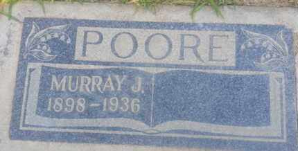 POORE, MURRAY - Los Angeles County, California   MURRAY POORE - California Gravestone Photos