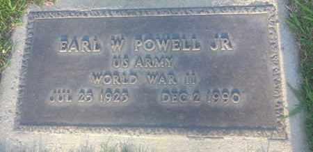 POWELL JR., EARL - Los Angeles County, California | EARL POWELL JR. - California Gravestone Photos