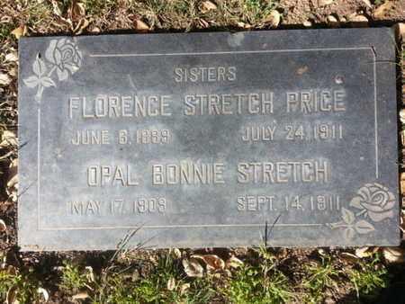 STRETCH, OPAL BONNIE - Los Angeles County, California   OPAL BONNIE STRETCH - California Gravestone Photos