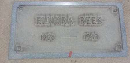 REES, ELNORA - Los Angeles County, California | ELNORA REES - California Gravestone Photos