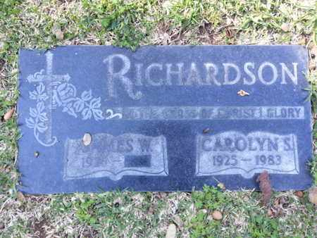 RICHARDSON, JAMES W. - Los Angeles County, California | JAMES W. RICHARDSON - California Gravestone Photos