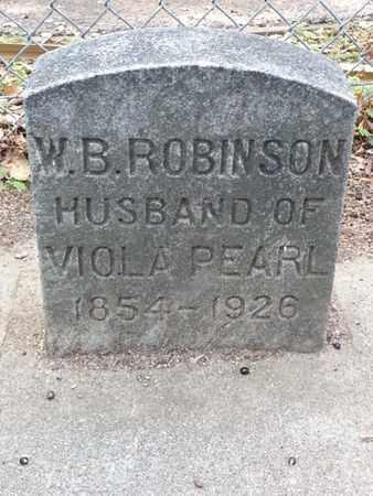 ROBINSON, W. B. - Los Angeles County, California | W. B. ROBINSON - California Gravestone Photos