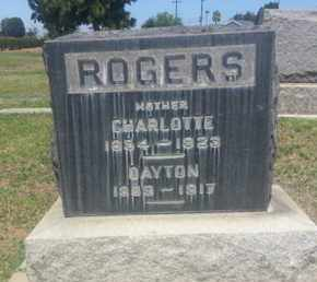 ROGERS, CHARLOTTE - Los Angeles County, California | CHARLOTTE ROGERS - California Gravestone Photos