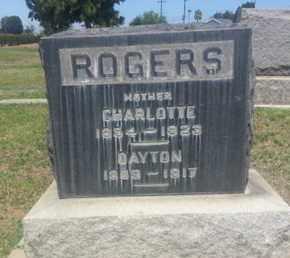 ROGERS, DAYTON - Los Angeles County, California | DAYTON ROGERS - California Gravestone Photos