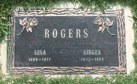 ROGERS, LELA - Los Angeles County, California   LELA ROGERS - California Gravestone Photos