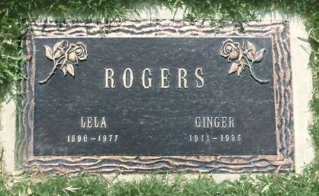 ROGERS, GINGER  [ACTOR/DANCER] - Los Angeles County, California | GINGER  [ACTOR/DANCER] ROGERS - California Gravestone Photos