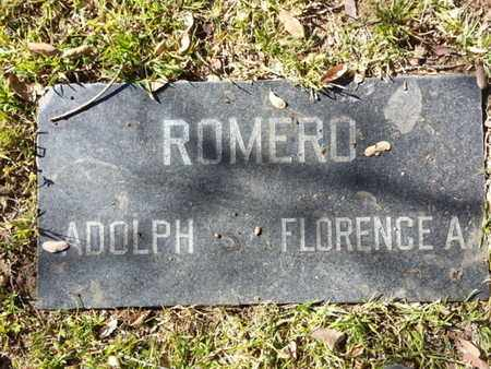 ROMERO, FLORENCE A. - Los Angeles County, California | FLORENCE A. ROMERO - California Gravestone Photos