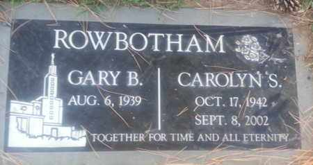 ROWBOTHAM, GARY - Los Angeles County, California | GARY ROWBOTHAM - California Gravestone Photos