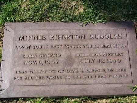 RIPERTON RUDOLPH, MINNIE JULIA  [SINGER] - Los Angeles County, California | MINNIE JULIA  [SINGER] RIPERTON RUDOLPH - California Gravestone Photos
